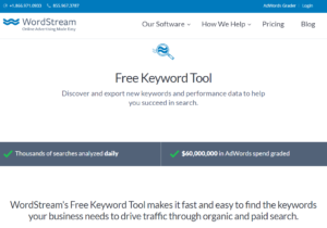 free keyword builder