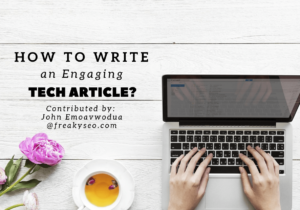 how to write engaging article