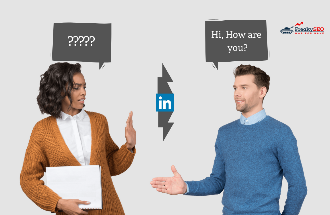 how to break the ice with any stranger on linkedin