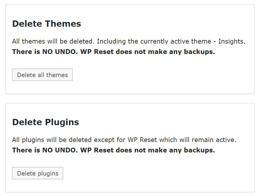 delete themes