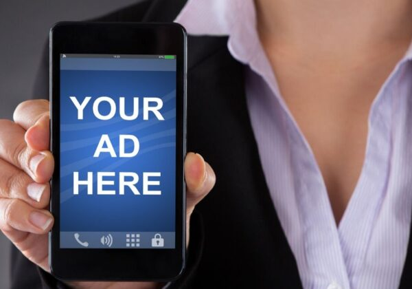 True or False: An advertiser can target mobile apps via google ads