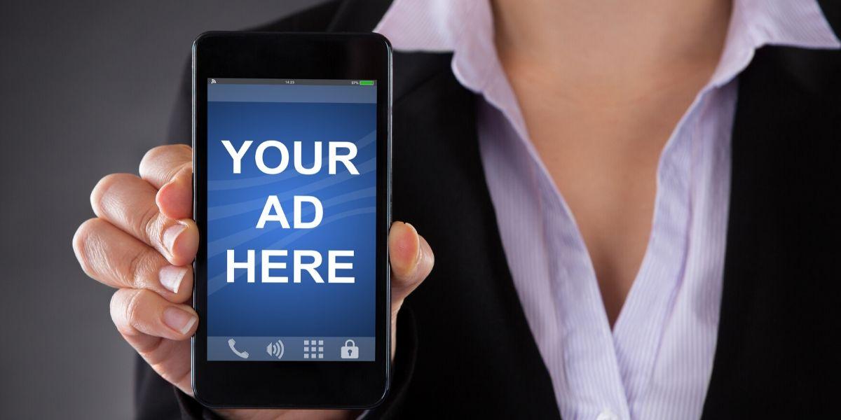 True or False: An advertiser can target mobile apps via google ads